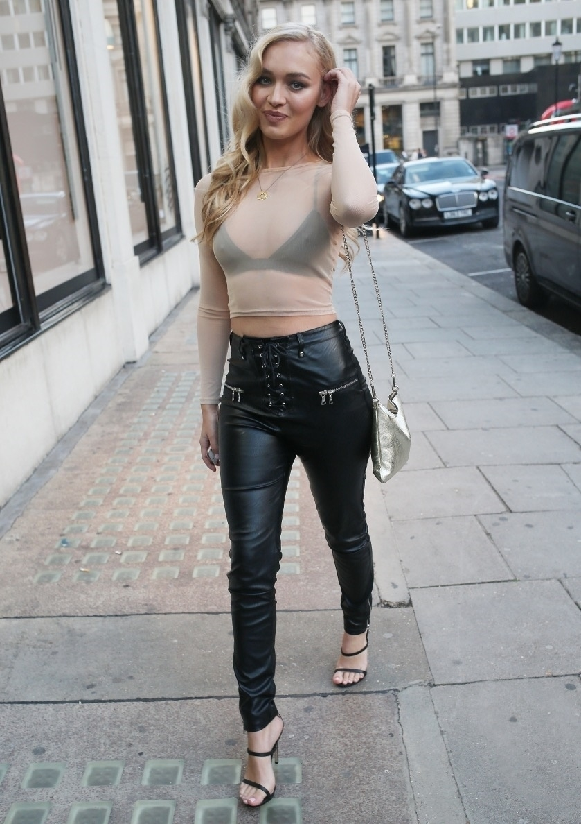 Super Sexy Tight Leather Pants On A Sexy Ass! Super sexy flat stomach, extremely tight leather pants with lace up crotch, metal studs, and big metal belt buckle are gorgeously trueiuptaf.gq the sexy studded high heels in black leather!