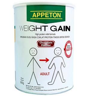 Harga Susu Appeton Weight Gain Terbaru Bulan Ini 2015