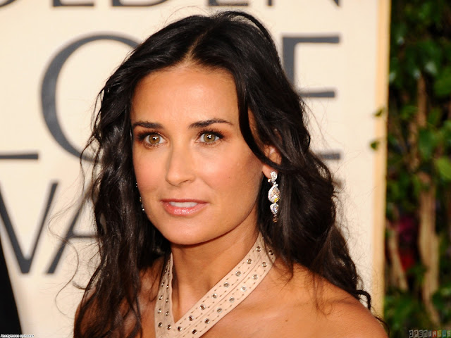 Cute Demi Moore HD Wallpaper765