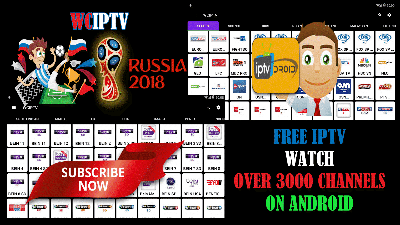 Top Five Best Iptv App 2018 - Circus