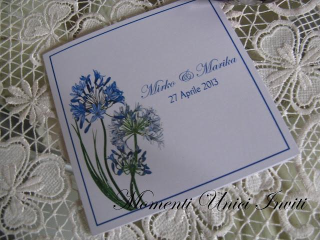 floral5 Partecipazioni card linea florealeLinea Floreale