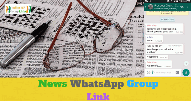 170+ News WhatsApp Group Link List Collection