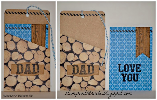 April Paper Pumpkin remake #6, Trude Thoman, stampwithtrude.blogspot.com, Stampin' Up!, Father's Day, pocket tag, #stampinup, #paperpumpkin