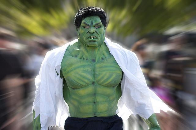 hulk cosplay