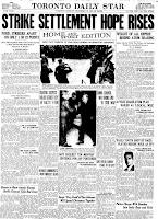 Toronto Star 12. November 1945