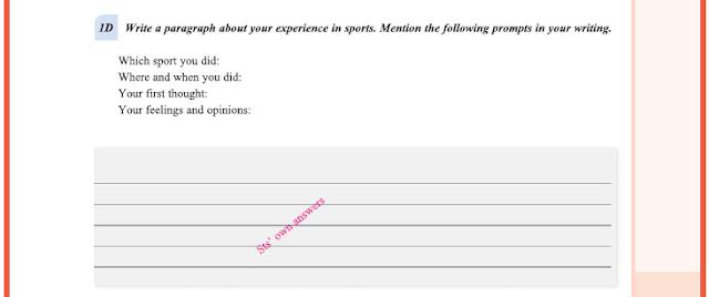 9. Sınıf Yıldırım Yayınları İngilizce A1.2 Ders Kitabı 51. Sayfa Cevapları Theme 4 Sports