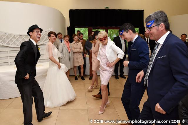 flash mob mariage, avant le repas, salle de la bretonnière 85 boufféré