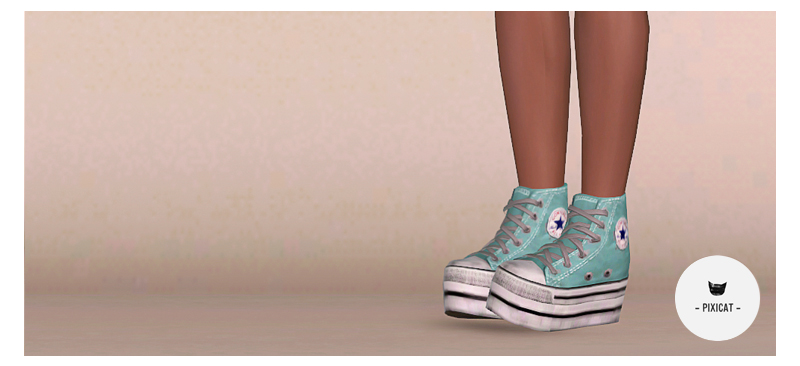 Sims 3 converse boots
