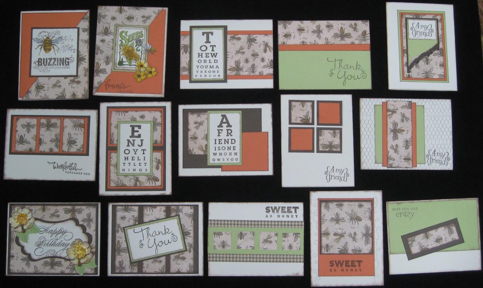 One Scraptastic Grandma!: One Sheet Wonder Card Class - photo#50