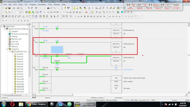 Cara Edit Program PLC Omron Saat Online