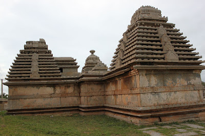Temples on the Hemakuta Hill at Hampi built by Kampiladeva