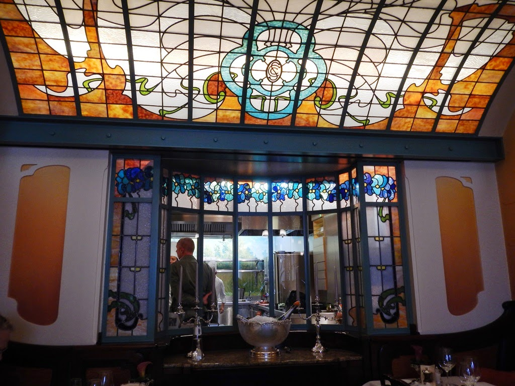 Comme chez Soi Brussel stained glass