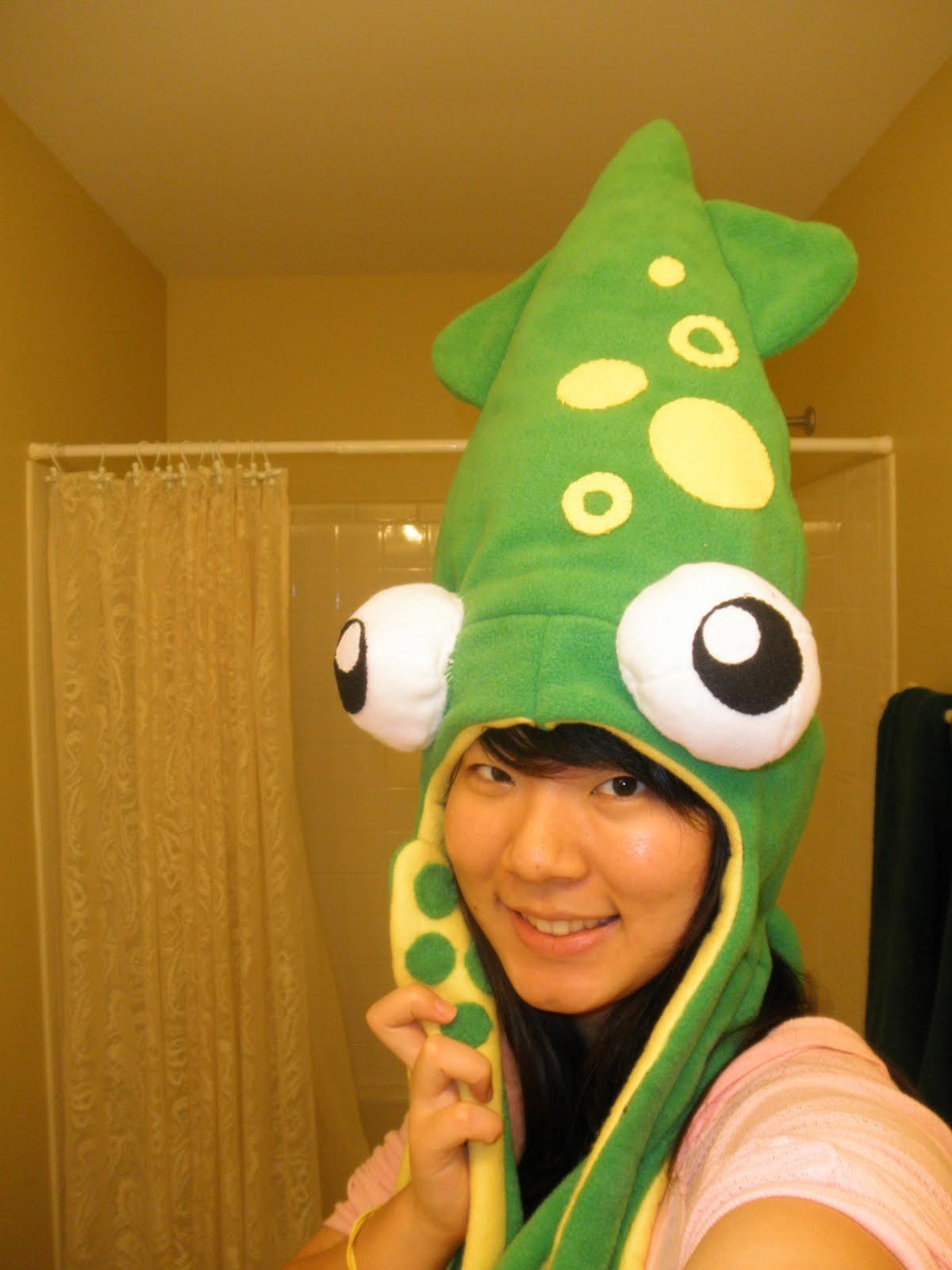 Fabrics and Chopsticks  FIRST POST- squid hat! 9e0372132d9