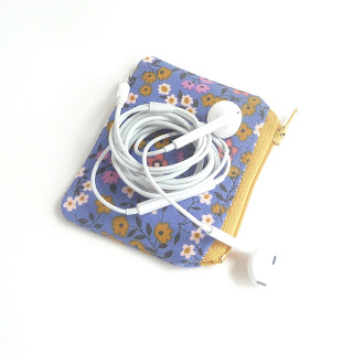 Ear Bud Pouches!