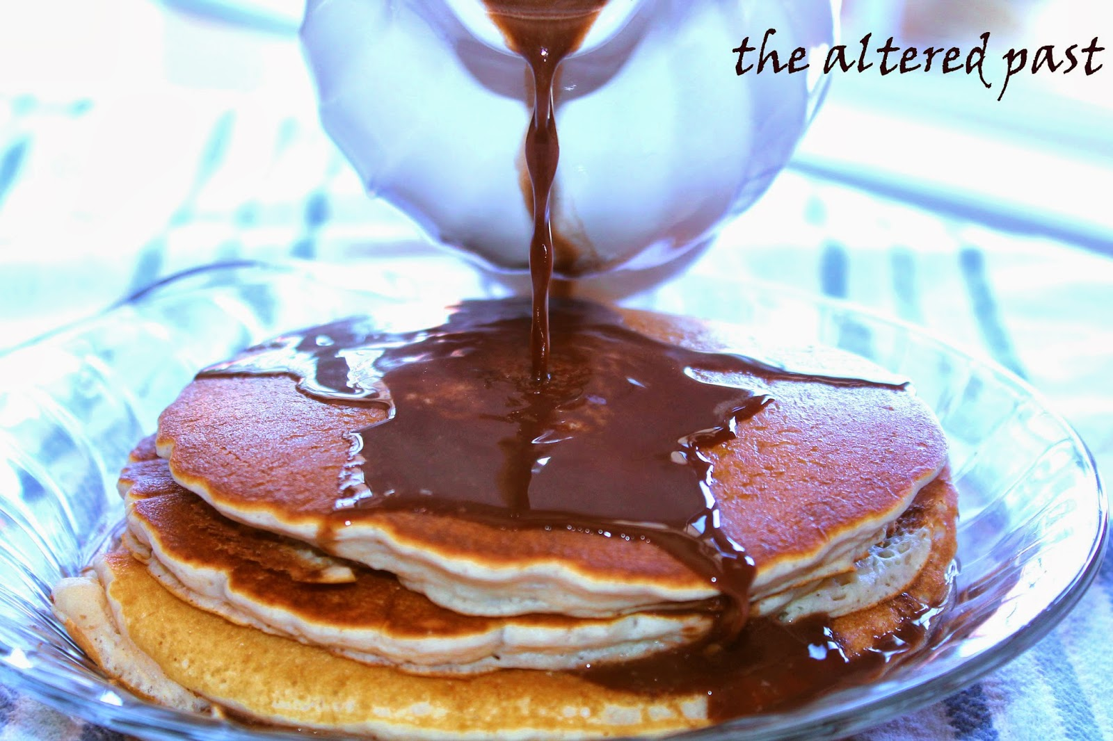 national pancake day, chocolate syrup recipe