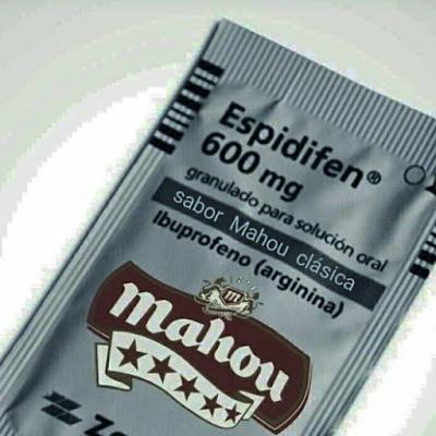 Espidifén sabor Mahou clásica