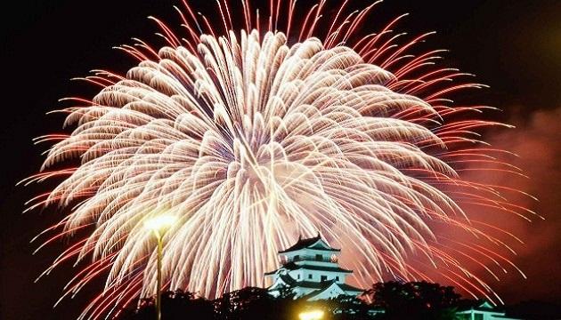 Digital festival firework