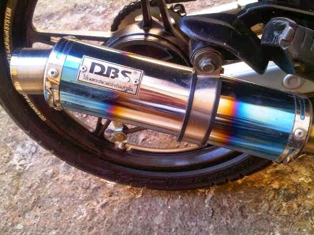 knalpot motor DBS