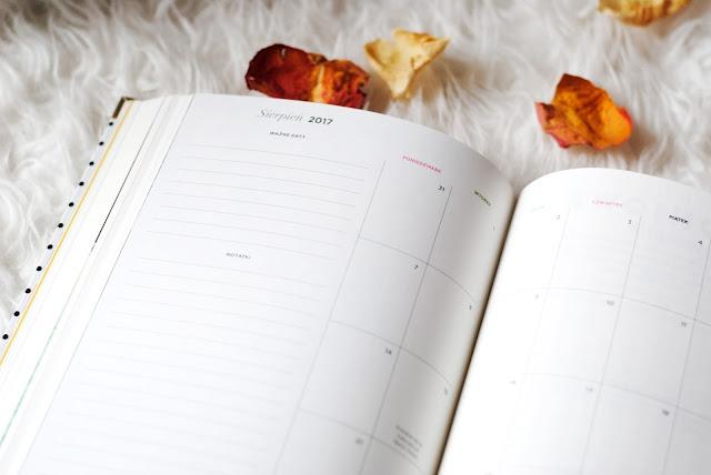Planowanie miesiąca Happy Planner