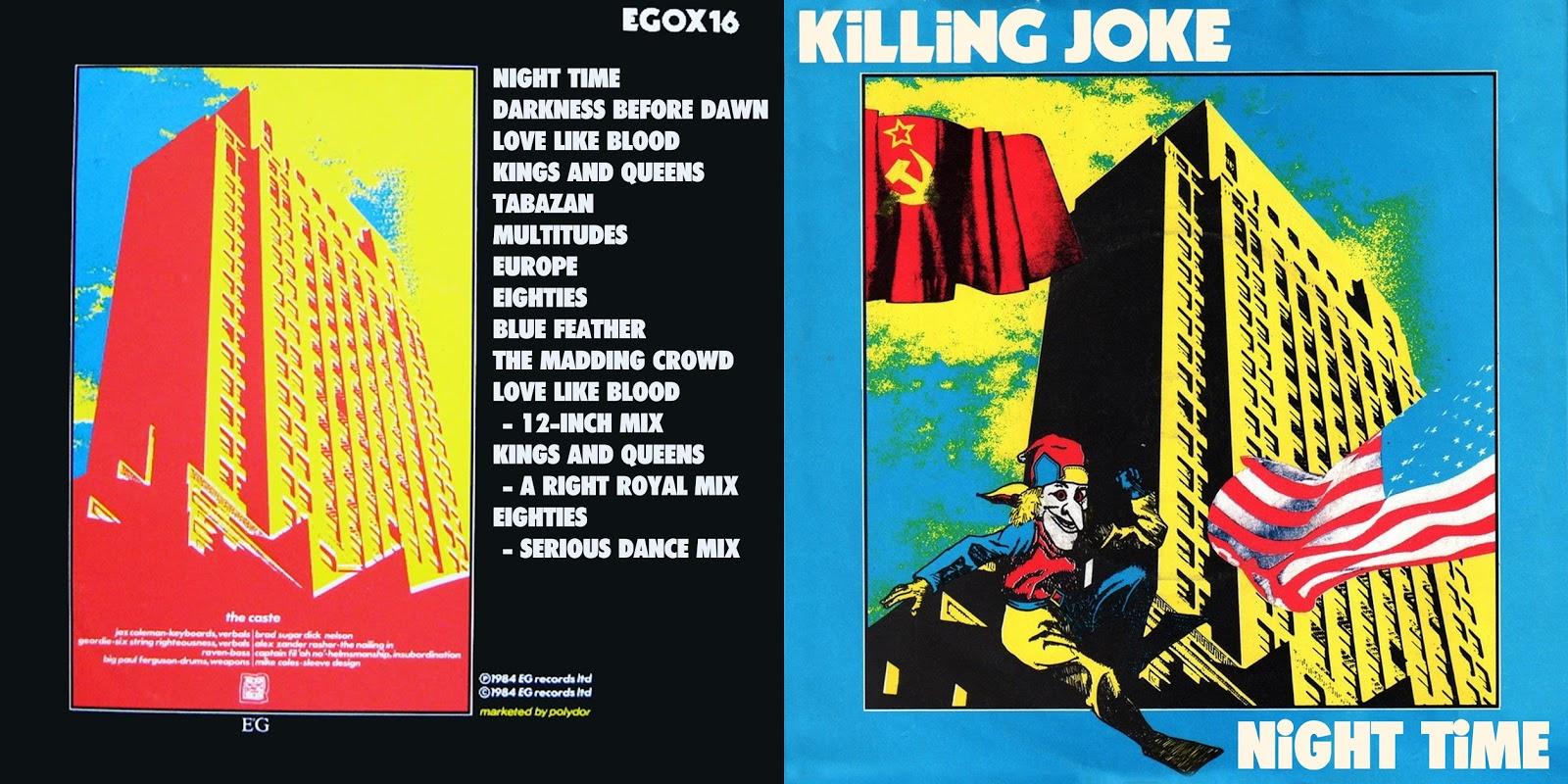 Killing Joke - Unspeakable