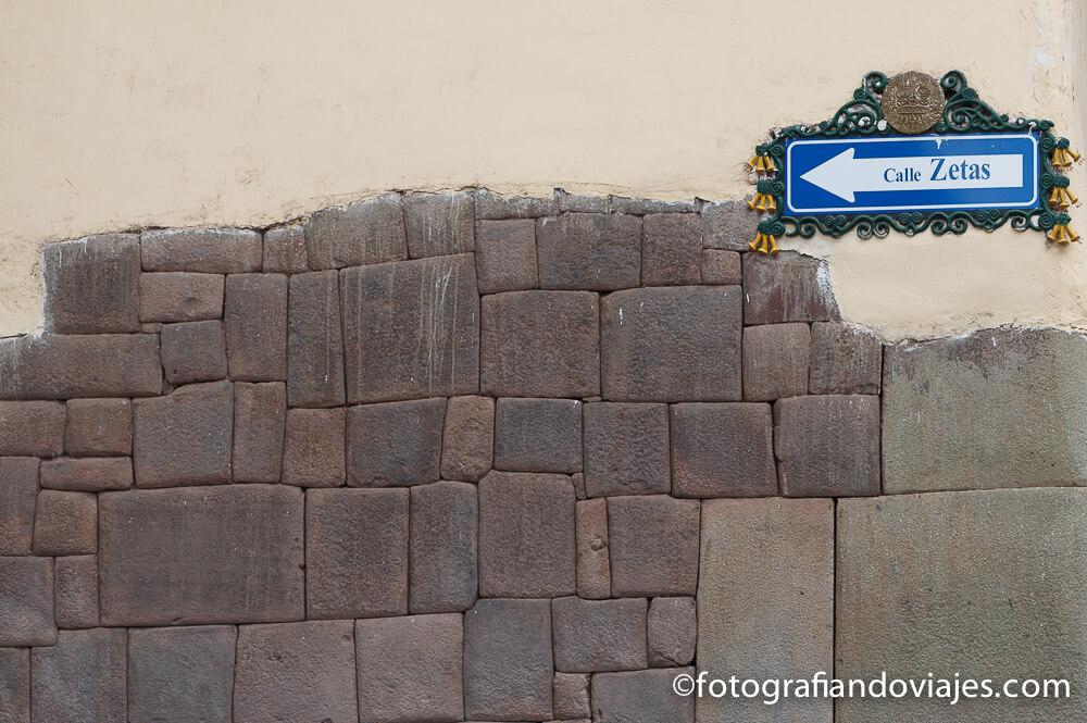 Restos incas en Cuzco