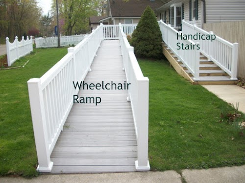 How To Build A Handicap Ramp >> ADA: Walker (Handicap) Stairs instead of a Wheelchair Ramp - Universal Design for Accessible Homes