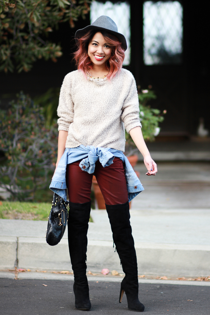 Winter outfit style
