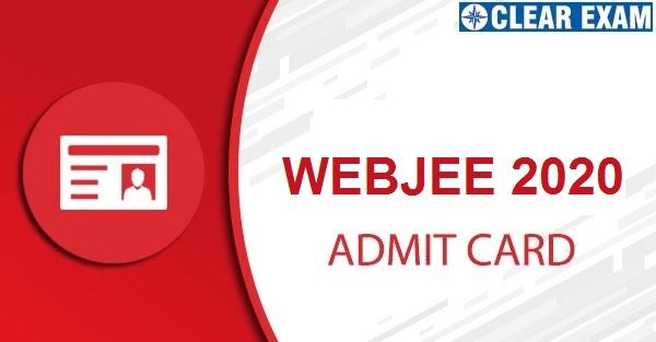 WBJEE 2020 Admit Card