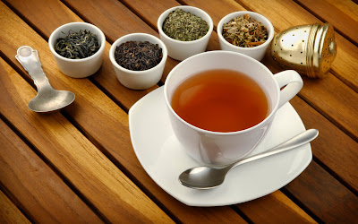 The tea helps to lose weight and reduce fat