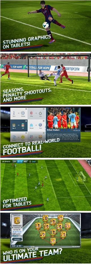 FIFA 14 v1.3.2 Mod Apk+Data