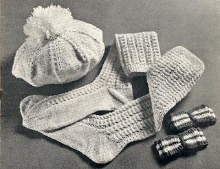 Knitted Knee Socks Pattern