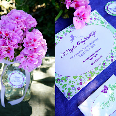 An Enchanting Lilac & Green Pixie Fairy Party