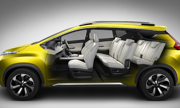 interior mobil xm mitsubishi
