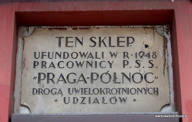 Praga Północ kamienice ulice praskie architektura sklep