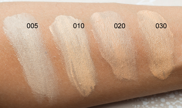 Catrice Swatches von den neuen Even Skin Tone Beautifying Foundations