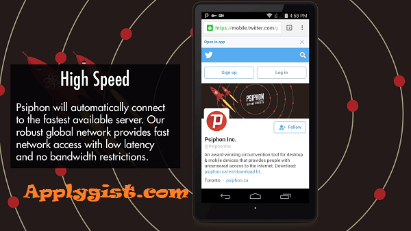 New Updated  Cracked  Psiphon Pro v149 APK