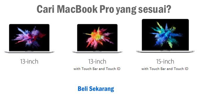 MacBook Pro Baru Beli Online