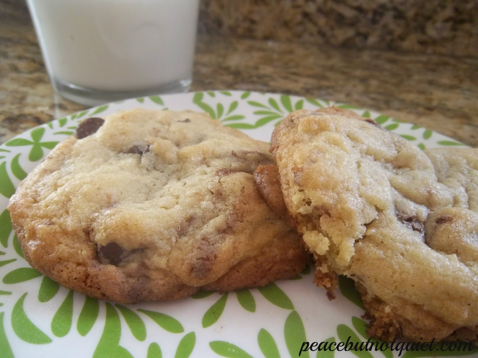 Tagalong Chocolate Chunk Cookies
