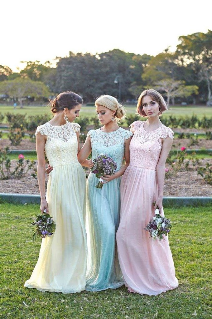 Loveliest Lace Bridesmaid Dresses Your Best Girls Will Love