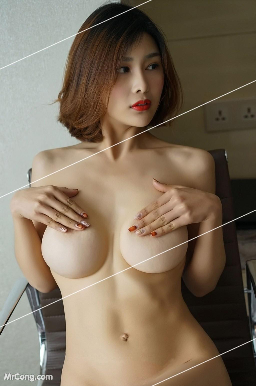 Image Yan-Pan-Pan-Part-3-MrCong.com-041 in post Ngắm vòng một siêu gợi cảm với nội y của người đẹp Yan Pan Pan (闫盼盼) (51 ảnh)