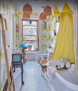 Wallpaper for Bathrooms in New York