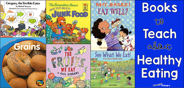 Use this collection of picture books to launch or supplement your unit on Healthy eating.
