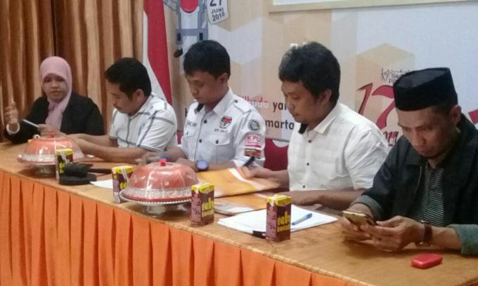 KPU Umumkan Hasil Tes Kesehatan 3 Pasangan Balon Bupati Sinjai, Hasilnya..