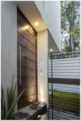 pintu minimalis elegan