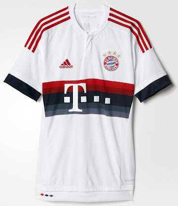 a812dbc5 FC Bayern München 15-16 Kits Released - Footy Headlines