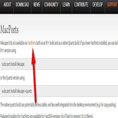 تحميل inkscape ماك او اس