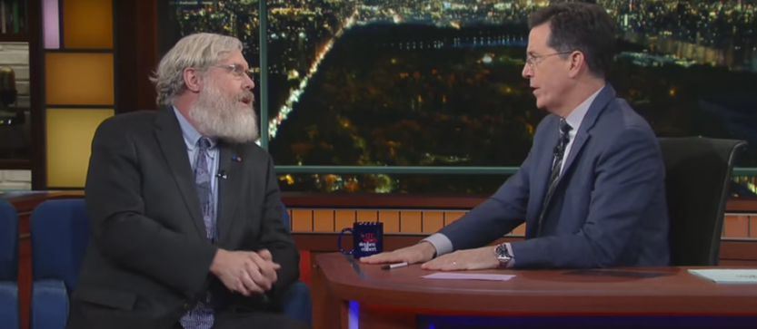 Stephen Colbert's Pretty Sure George Church Said He's Going To Live Forever