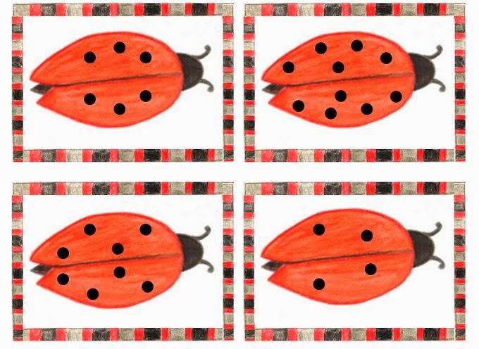 Möchtest du mit deinen Schülern das Verdoppeln üben? Dann könntest du diese kleinen Käfer im Matheunterricht einsetzen.