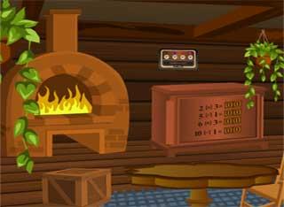 Juegos de Escape - Wooden House Escape