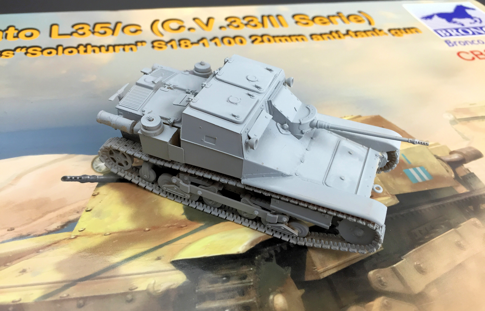 The Modelling News: Construction Review: Bronco Models ...